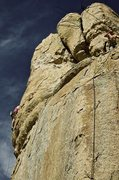 Rock Climbing Photo: Kirkpatrick on Twelve O'Clock High, Klink looking ...