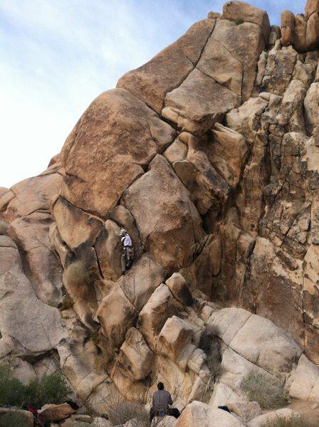 Rock Climbing Photo: bulges