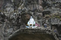 Virgin Mary At Suesca