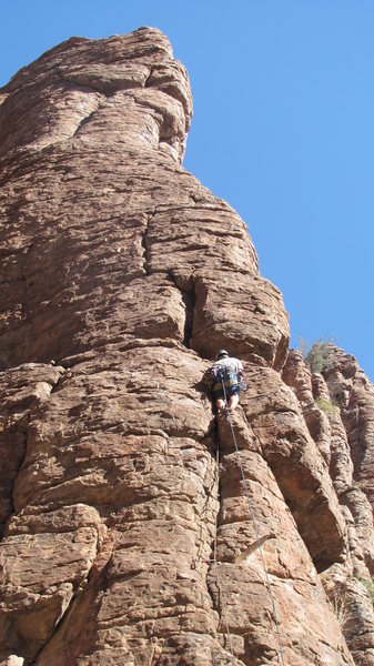 Climbing No Sweat Arete