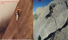 Rock Climbing Photo: then and now