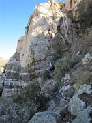 """Rock Climbing Photo: This is the """"Micro Buttress"""".  Three ver..."""
