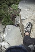 Rock Climbing Photo: Leo en El Revolver 5.10a/b, Suesca - Colombia  Fot...