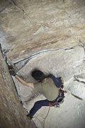 Rock Climbing Photo: Leo en El Revolver 5.10a/b, Suesca - Colombia Foto...
