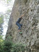 Rock Climbing Photo: Cami on KFBM