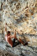 Rock Climbing Photo: pumpy and powerful limestone climbing