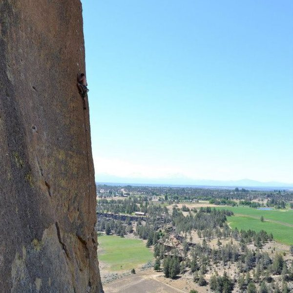 Rock Climbing Photo: A beautiful summer day at Smith