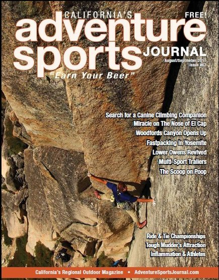 CSF on the cover of Adventure Sports Journal