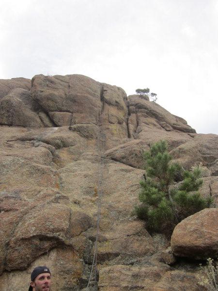 Rock Climbing Photo: The Smiling Mortitian.