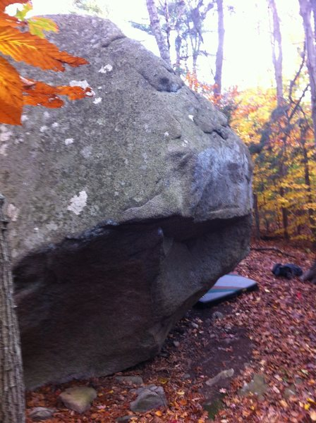The Ear. Approach Boulder, Redrocks Conservation Area.