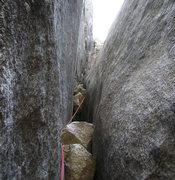 Rock Climbing Photo: Pitch7