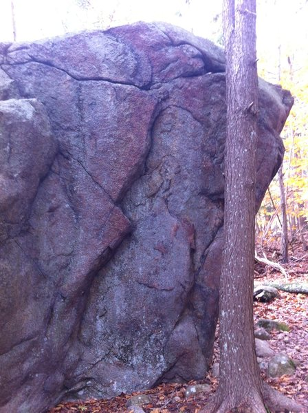 Rock Climbing Photo: Flying Devils, 128 Boulder.