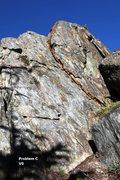 Rock Climbing Photo: Warm-up Slabs Right Topo