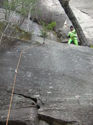 Rock Climbing Photo: This picture speaks for itself.  I'm just not sure...