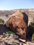Rock Climbing Photo: Kumite Boulder's east face.