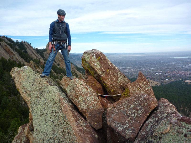 Top of Hillbilly Rock.