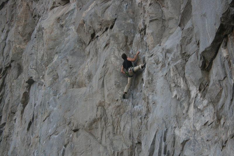 Rock Climbing Photo: Unknown climber 11-3-12
