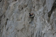 Rock Climbing Photo: Unknown climber 11-3-12