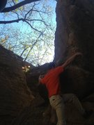 Rock Climbing Photo: Same route that is shown with Avery Drive just ano...