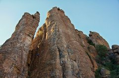 Rock Climbing Photo: Matt king top roping hammerhead.  Taken by An Pham...