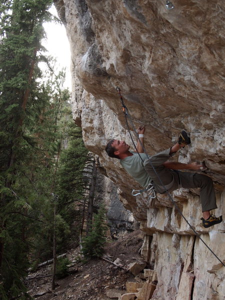 Rock Climbing Photo: G-man