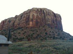 Rock Climbing Photo: SuperCrack Buttress