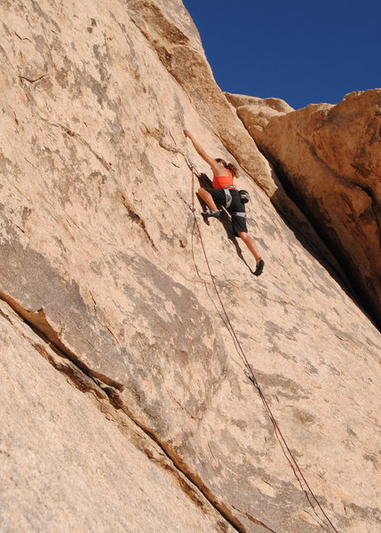 "Rock Climbing Photo: Susan Peplow on ""Remembering Marina"". Ph..."