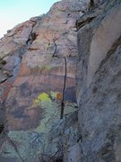 "Rock Climbing Photo: Small wires and, if you're lucky, an ""iffy&qu..."
