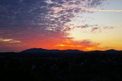 Rock Climbing Photo: Blencathra Mt at sunset. Photo Kenyon