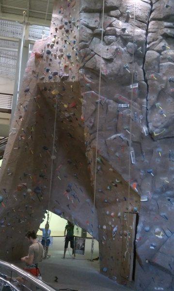 Rock Climbing Photo: Climbing wall.