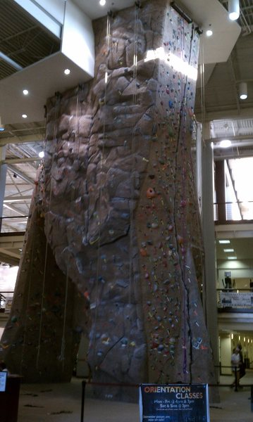 Rock Climbing Photo: Climbing wall.