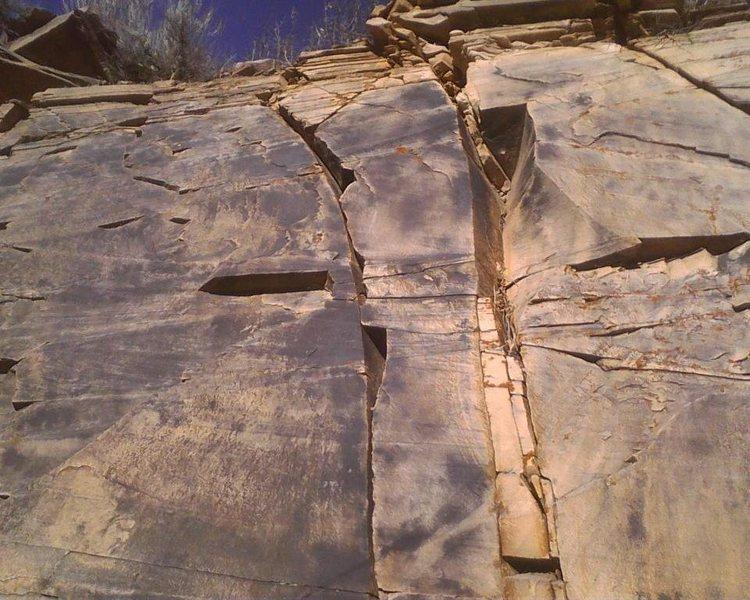 Rock Climbing Photo: Main climbing wall