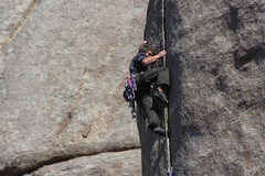 Rock Climbing Photo: Asking for help from the wizard