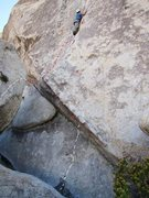 Rock Climbing Photo: original start on left; direct start on right