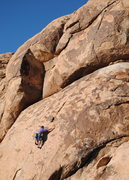 Rock Climbing Photo: Russ Walling stink buggin' the lower section. Phot...