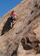 """Rock Climbing Photo: Susan peplow on """"Fender bender"""". photo b..."""
