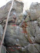 Rock Climbing Photo: Crash Landing.