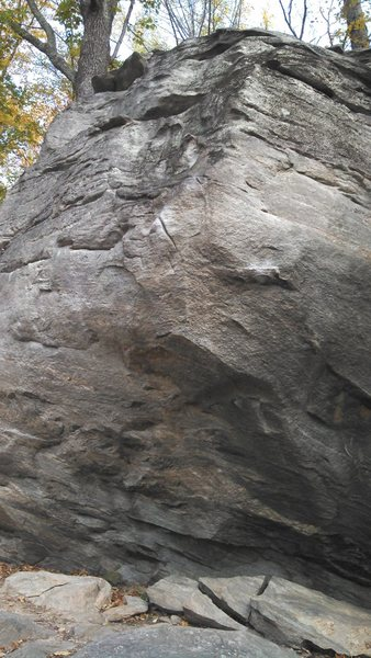 Rock Climbing Photo: The Campus Problem at Trailside Boulders.