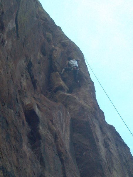 JK on the crux.