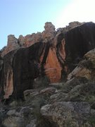 Rock Climbing Photo: Shot of the wall