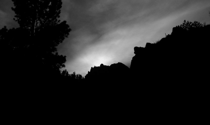 Rock Climbing Photo: Cathedral Spires.