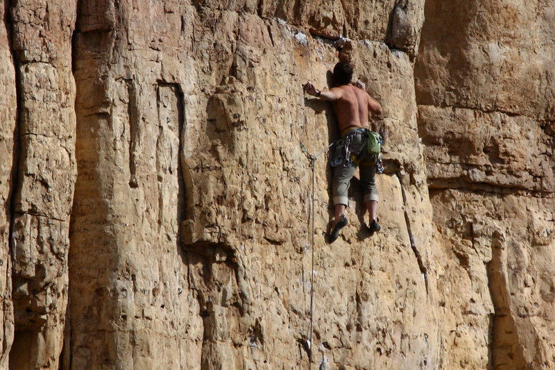 Rock Climbing Photo: Austin on Partners.