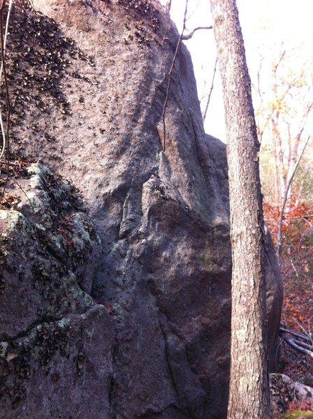 Rock Climbing Photo: Rotten Egg.