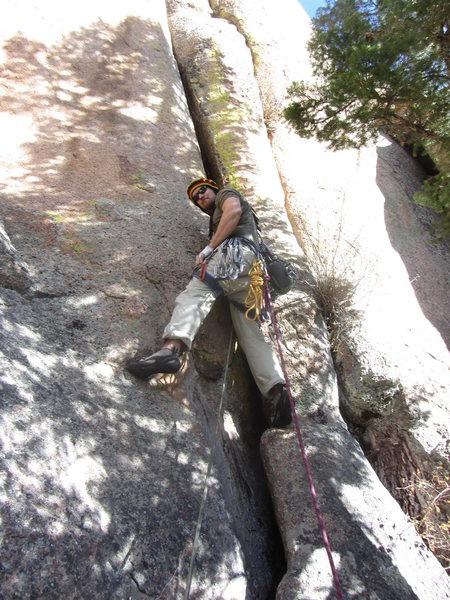 Rock Climbing Photo: The start.  Halloween.