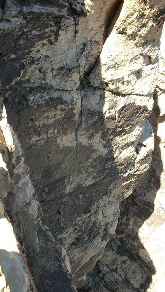 Rock Climbing Photo: Spit upon my plates.