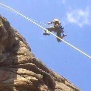 Rock Climbing Photo: Whoa!...I said LOWER