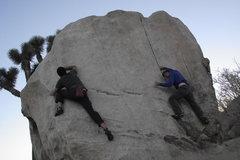 Rock Climbing Photo: Ring around the pinhead