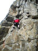 Rock Climbing Photo: Working the Dominator