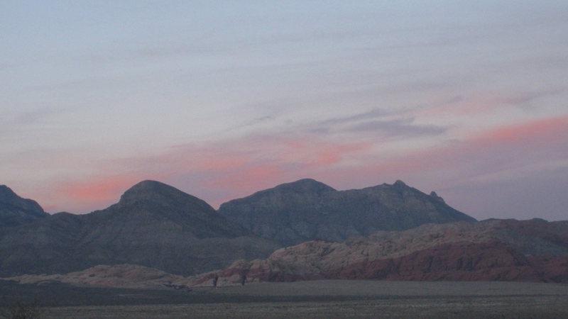 Beautiful Red Rock Nevada