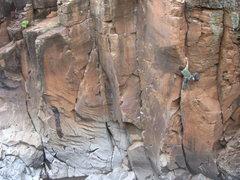 Rock Climbing Photo: Dancing at the Yogi Cracks